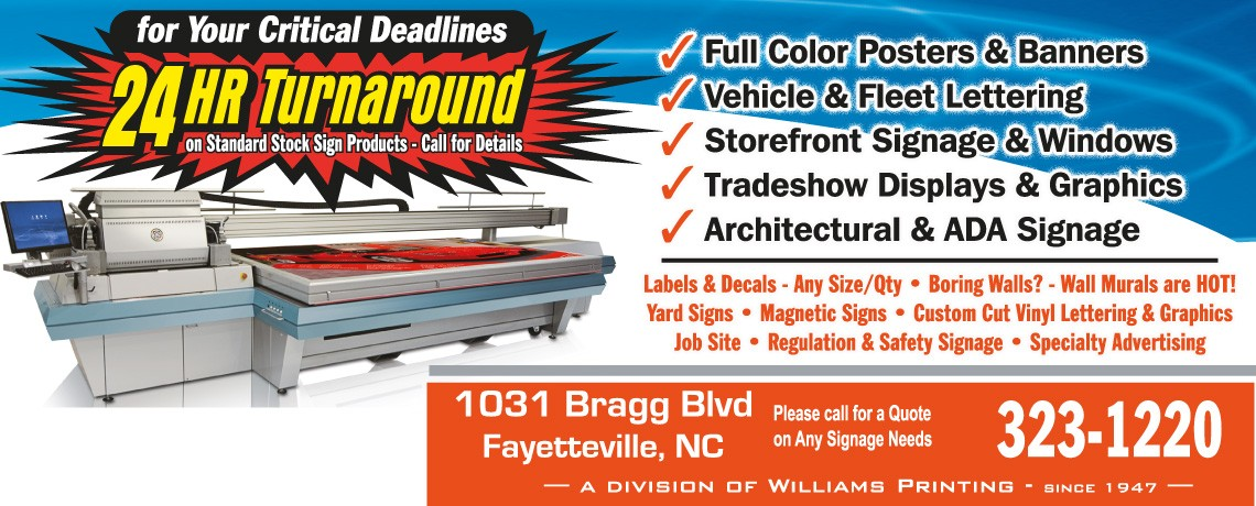 Your Complete Source for Custom Signs & Graphics